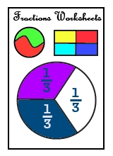 Free premade printable fractions worksheets for kids in all grades from KG to Grade 8.