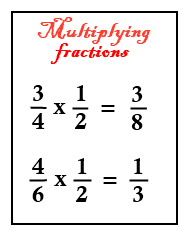 How to multiply fractions lessons and worksheets for students. Tips and step by step instructions to learn how to multiply mixed numbers.